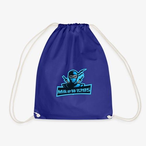 MikeW1295 Ninja Logo - Drawstring Bag