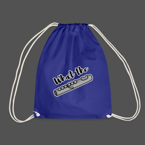 What the Flute transparent - Drawstring Bag