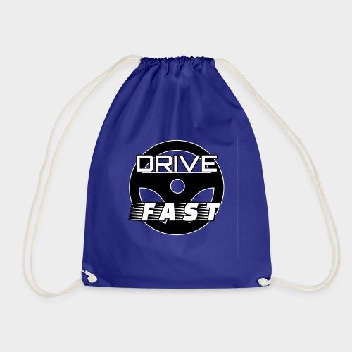 Drive Fast (Drive Fast) - Drawstring Bag