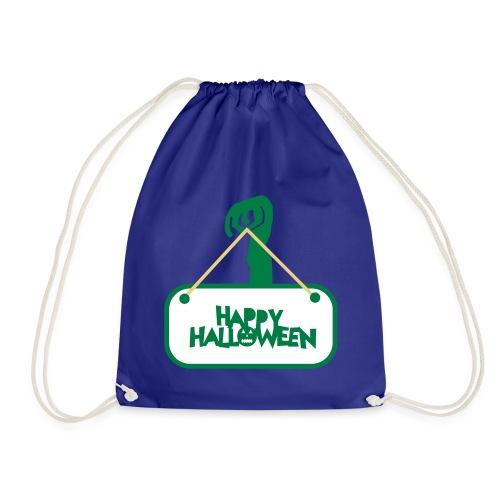 happy halloween - Drawstring Bag