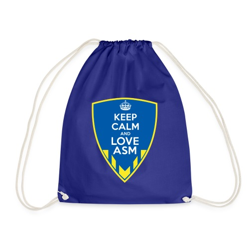 Blason Keep Calm And Love ASM - Sac de sport léger
