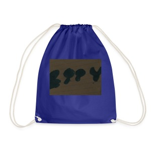 Etty Blue writing merch - Drawstring Bag
