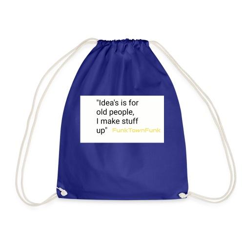 Thinking alive range - Drawstring Bag