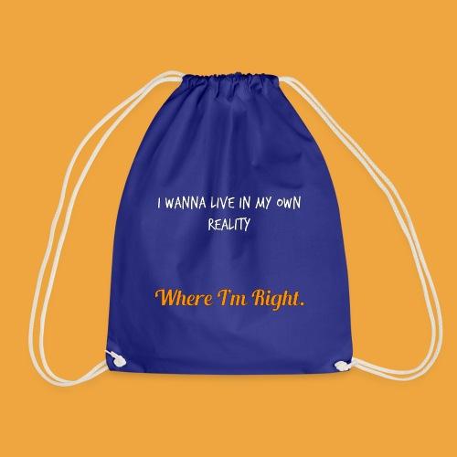 Quote 82 - Drawstring Bag
