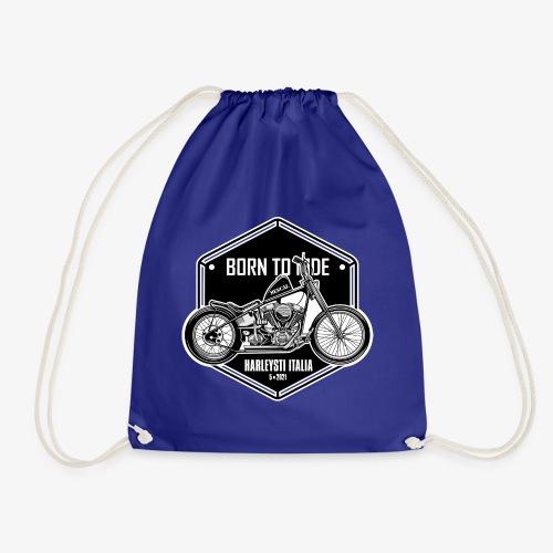 Born to Ride - Vintage motorbike - Sacca sportiva