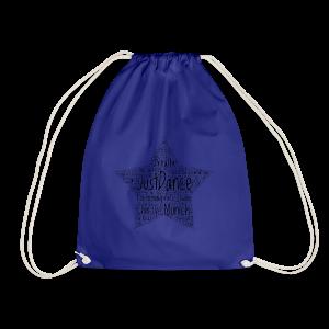 PAS Star black - Turnbeutel