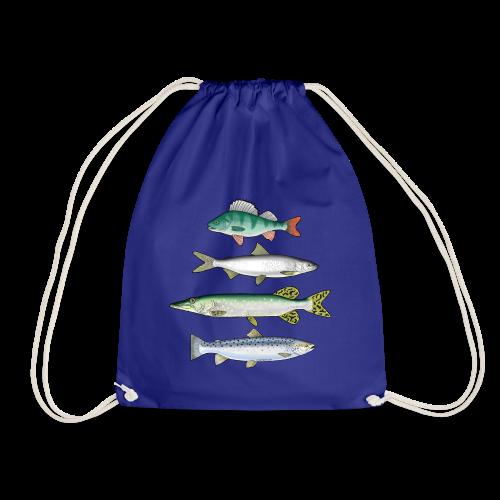 10-34 FOUR FISH - Ahven, siika, hauki ja taimen - Jumppakassi