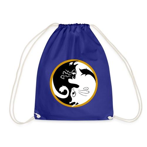 Ying yang cats - Sac de sport léger