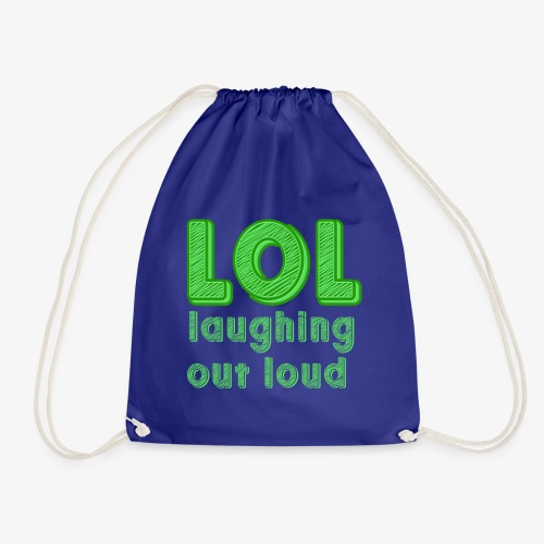 LOL - Laughing Out Loud - Mochila saco