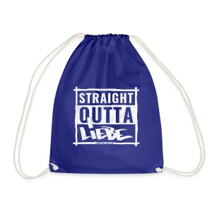 Straight outta Liebe - WHITE - Turnbeutel