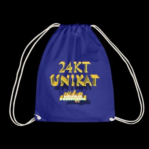 24kt Unikat Kansidah Design - Turnbeutel
