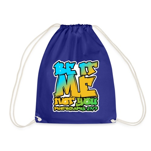 Hip-Hop Logo - Drawstring Bag