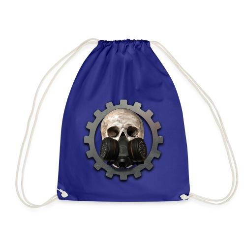 EBM - ELECTRONIC BODY MUSIC DEATH HEAD RESPIRATOR - Drawstring Bag