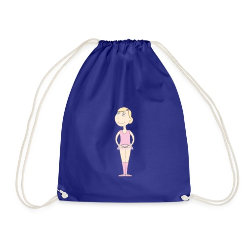 Ballerina Lucy - Drawstring Bag