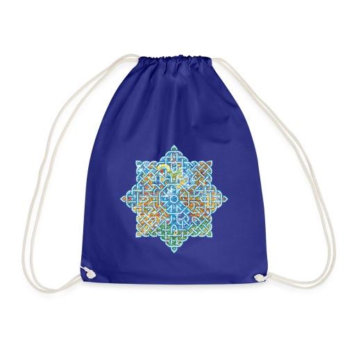 celtic flower - Drawstring Bag