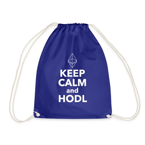 Ethereum Keep Calm and HODL - Turnbeutel