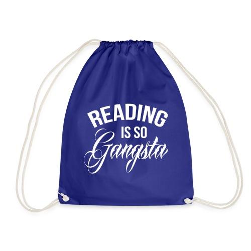 Reading is so Gangsta - Gymtas