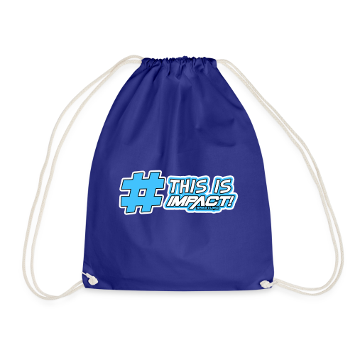 This Is Impact Wrestling - Drawstring Bag