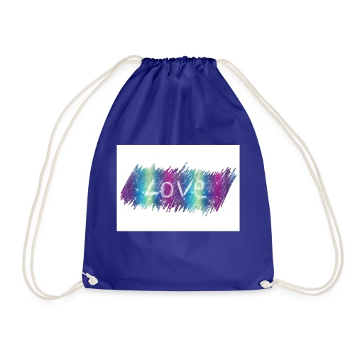 Feel the love - Drawstring Bag