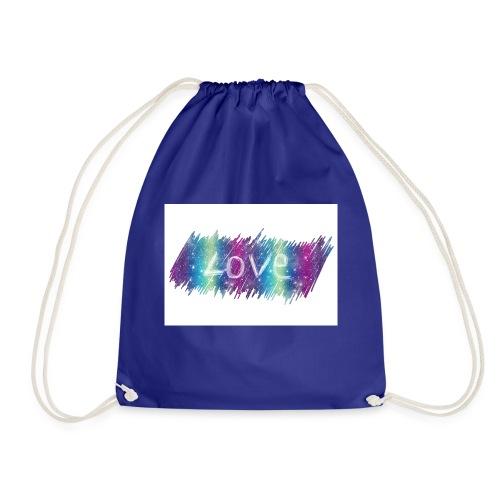 Feel the love - Drawstring Bag