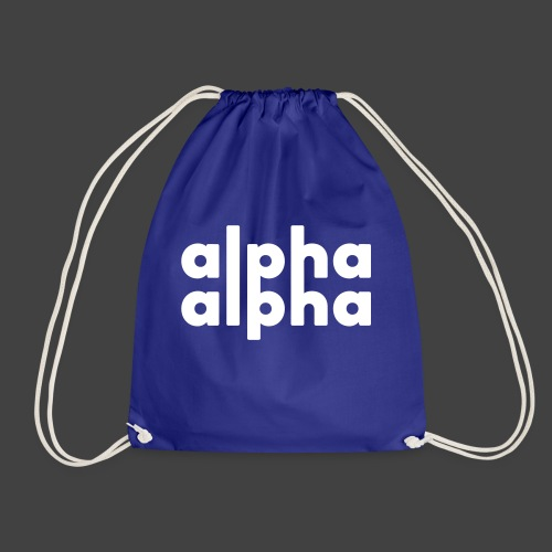 alpha alpha - Turnbeutel