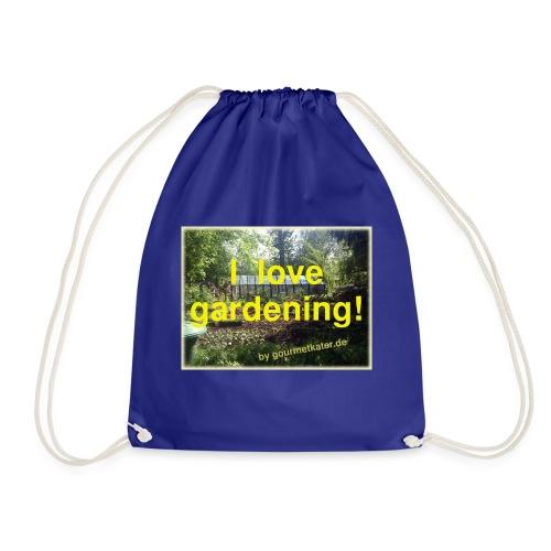 I love gardening - Garten - Turnbeutel