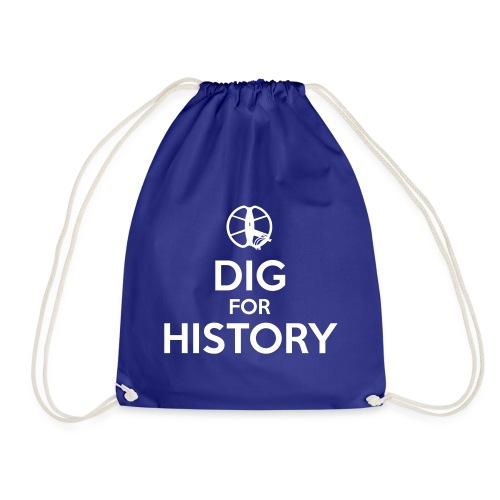 Dig for History 1 - by Detonateur - white - Sac de sport léger