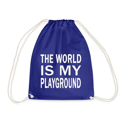 theworldismyplayground png - Turnbeutel
