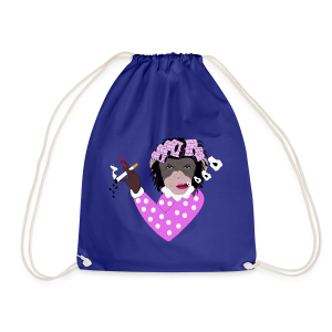 FEMALE MONKEY - Drawstring Bag