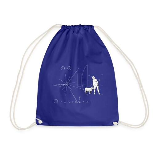 Plate Pioneer Sheep - Drawstring Bag