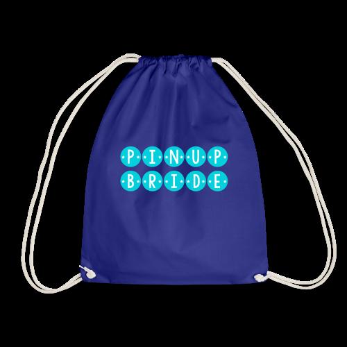 Pinup Bride - Drawstring Bag