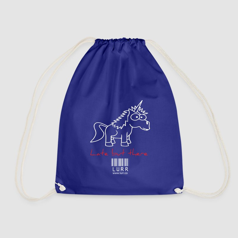 lurr unicorn - Drawstring Bag