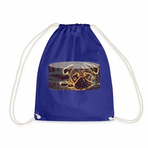 pug - Drawstring Bag