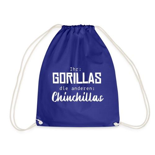 Gorillas vs. Chinchillas - Turnbeutel