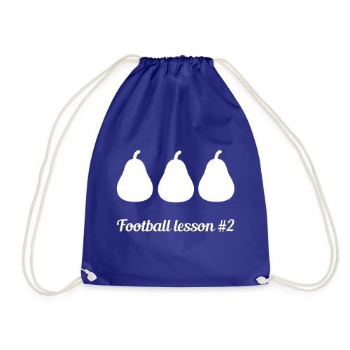Football Lesson #2 - 3 pere - Sacca sportiva