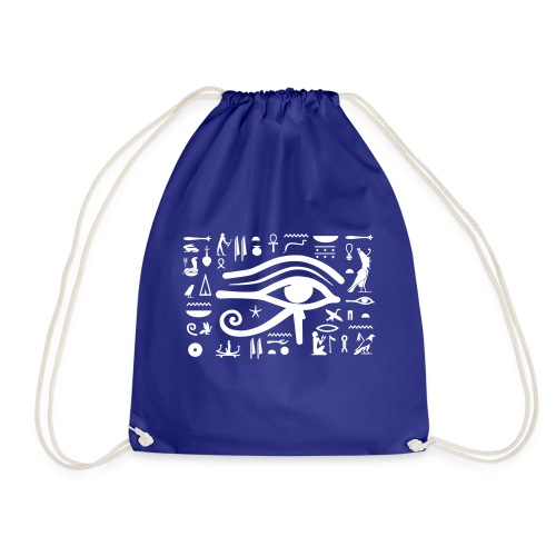 HORUS Hieroglyphen - Turnbeutel