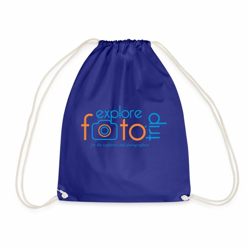 Explore PhotoTrip - Drawstring Bag