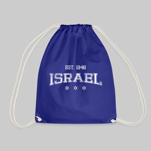 ISRAEL-white - Drawstring Bag