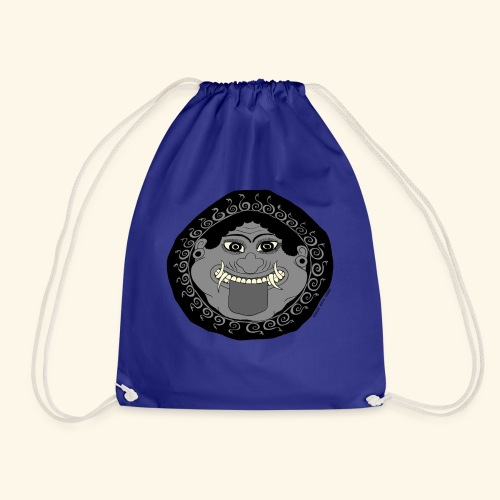 Greek Myth Comix - the GORGON - Drawstring Bag