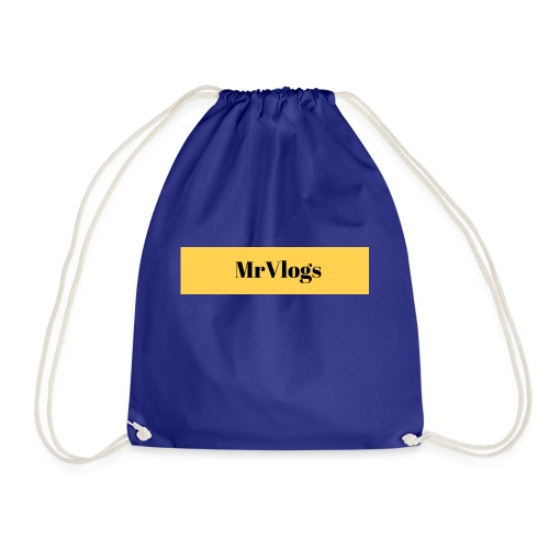 MrVlogs Cool Banner - Drawstring Bag