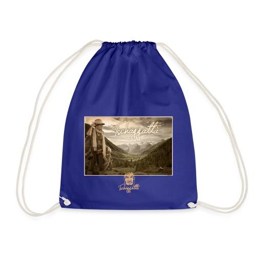 Tschaggatta logo red - Drawstring Bag