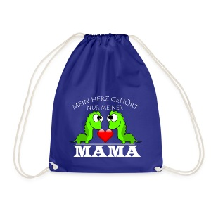Dino herz mama - Turnbeutel