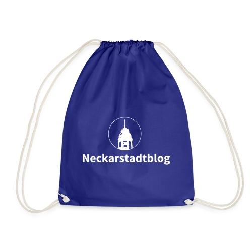 Neckarstadtblog – Logo und Schriftzug - Turnbeutel