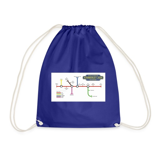 Kimberley Jam Map - Drawstring Bag