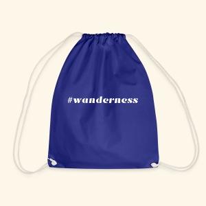 wanderness_white - Turnbeutel