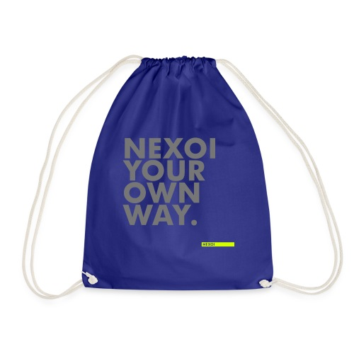 Unisex Hooded Jacket Newman collection - Drawstring Bag