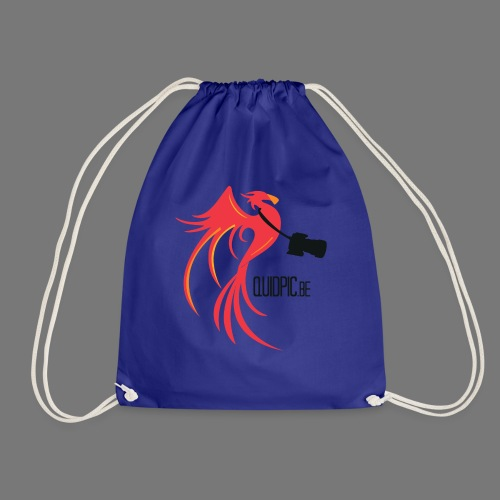 T-Shirt Men White (Front) - Drawstring Bag