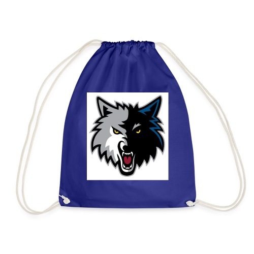 minnesota-timberwolves-logo - Drawstring Bag