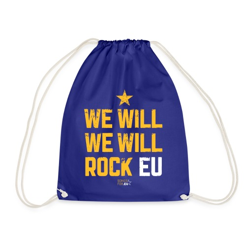 We want to rock EU | SongsFor.EU - Drawstring Bag
