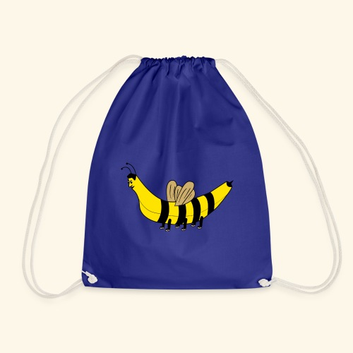 Banana bee - Drawstring Bag